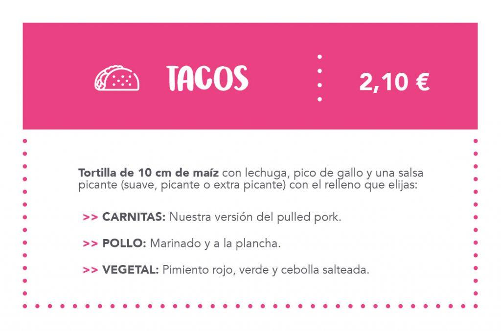 Carta MOLE Tex-Mex Tacos